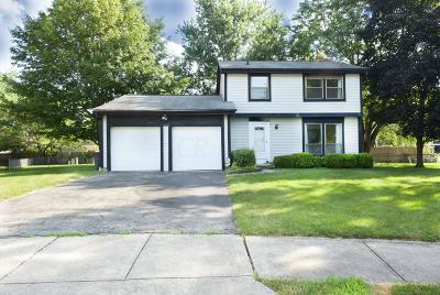 Westerville OH Single Family Home For Sale: $209,900