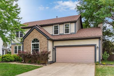 Hilliard Single Family Home For Sale: 4634 Brownstone Drive
