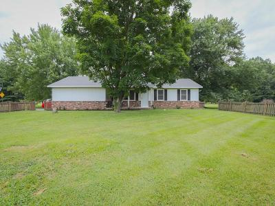 Fairfield County, Pickaway County, Ross County Single Family Home For Sale: 6050 Stemen Road