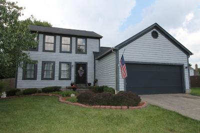 Reynoldsburg Single Family Home For Sale: 1091 Starlight Drive