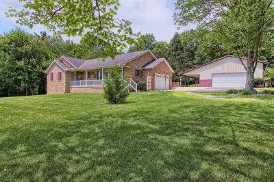 Fairfield County, Pickaway County, Ross County Single Family Home For Sale: 9140 Salem Church Road NW
