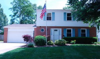 Westerville Single Family Home For Sale: 337 Delaware Drive