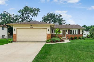 Westerville Single Family Home For Sale: 583 Leacrest Place W