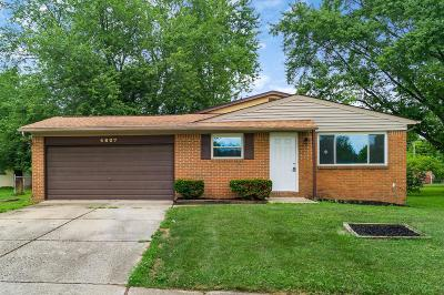 Columbus Single Family Home For Sale: 4807 Echomoore Drive
