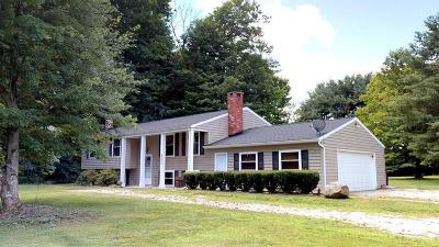 Gambier Single Family Home For Sale: 8885 Grove Church Road