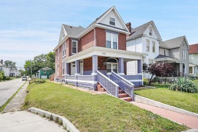 Columbus Single Family Home For Sale: 369 N Monroe Avenue