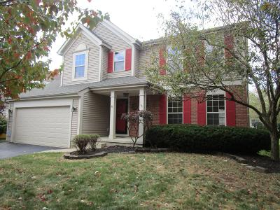 Westerville Single Family Home For Sale: 5487 Bullfinch Drive