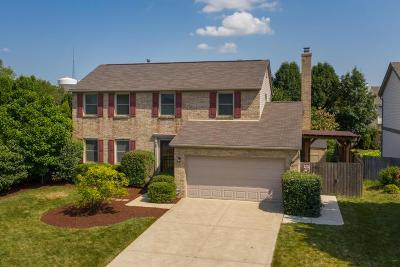 Westerville Single Family Home For Sale: 958 Brockwell Drive