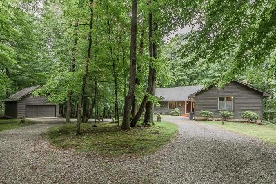Delaware County, Franklin County, Union County Single Family Home For Sale: 8460 Lott Road