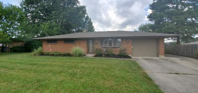 Reynoldsburg Single Family Home For Sale: 6814 Gilette Drive
