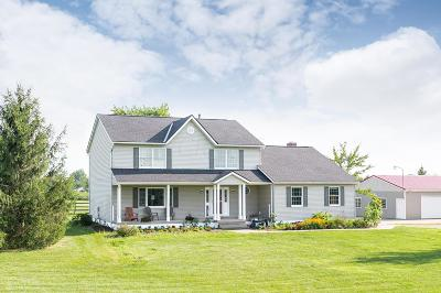 Centerburg OH Single Family Home For Sale: $475,000