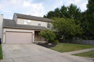 Hilliard Single Family Home For Sale: 2491 Oakthorpe Drive