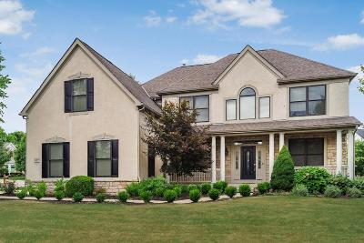 Dublin Single Family Home For Sale: 5417 Limestone Ridge Drive