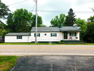 Ashville Single Family Home For Sale: 4400 State Route 316 W