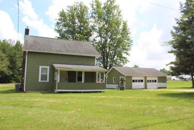 Single Family Home For Sale: 13571 Johnstown Utica Road