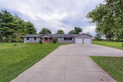 Circleville OH Single Family Home Contingent Escape: $238,000