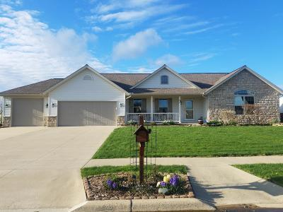 Centerburg Single Family Home For Sale: 22 Fieldcrest Drive