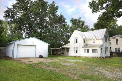 Mount Vernon OH Single Family Home For Sale: $55,000