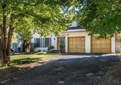 Columbus Single Family Home For Sale: 2391 Fishinger Road