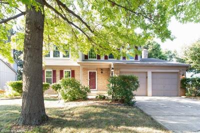 Columbus Single Family Home For Sale: 6976 Spruce Pine Drive