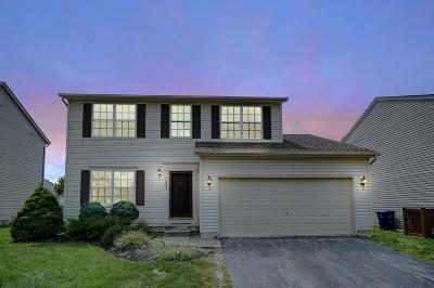 Single Family Home For Sale: 7823 Crawford Farms Drive