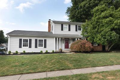 Westerville Single Family Home For Sale: 4490 Yellowhammer Drive