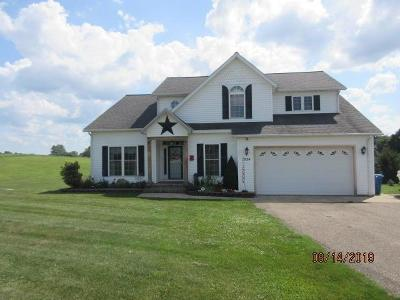 Fredericktown Single Family Home For Sale: 7524 Mount Gilead Road