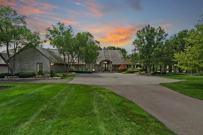 Dublin OH Single Family Home For Sale: $3,950,000