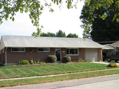 Reynoldsburg Single Family Home For Sale: 1646 Lucks Road