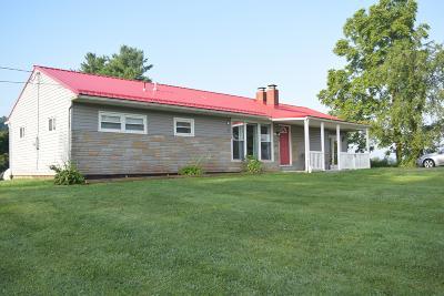 Newark Single Family Home For Sale: 2286 W High Street NE
