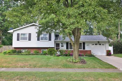 Westerville Single Family Home For Sale: 557 Illinois Court