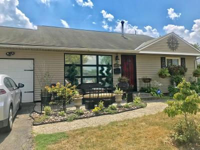 Columbus Single Family Home For Sale: 4893 Justin Road