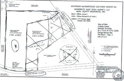 Newark Residential Lots & Land For Sale: 7771 Marion Road NE