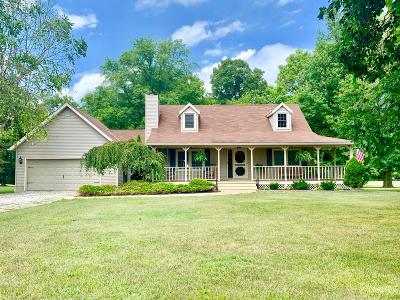 Delaware Single Family Home For Sale: 3661 Cheshire Road