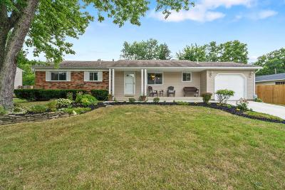 Gahanna Single Family Home For Sale: 399 Hermitage Road