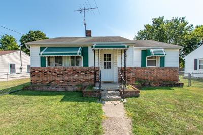 Circleville OH Single Family Home For Sale: $110,000