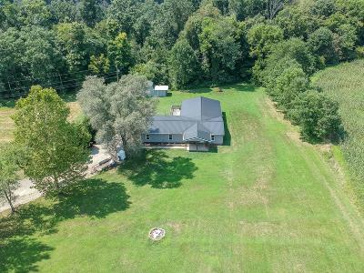 Rushville OH Single Family Home For Sale: $170,000