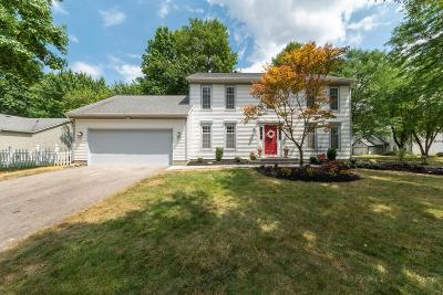 Westerville Single Family Home For Sale: 8084 Winter Hill Court
