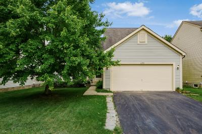 Franklin County, Delaware County, Fairfield County, Hocking County, Licking County, Madison County, Morrow County, Perry County, Pickaway County, Union County Single Family Home For Sale: 6399 Whims Road