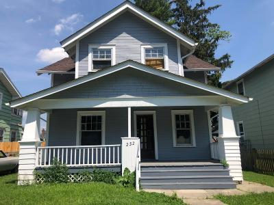 Franklin County, Delaware County, Fairfield County, Hocking County, Licking County, Madison County, Morrow County, Perry County, Pickaway County, Union County Single Family Home For Sale: 232 N Ogden Avenue