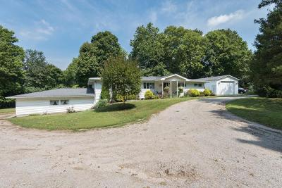 Delaware County, Franklin County, Union County Single Family Home For Sale: 2279 Panhandle Road