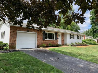 Gahanna OH Single Family Home For Sale: $190,000