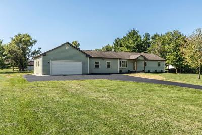 Single Family Home For Sale: 10585 Miller Road