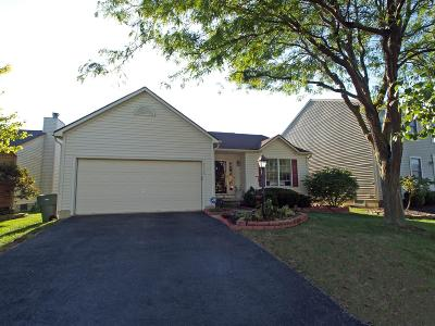Hilliard Single Family Home For Sale: 2215 Yagger Bay Drive