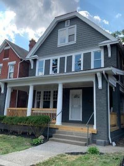 Columbus Single Family Home For Sale: 467 Wilson Avenue
