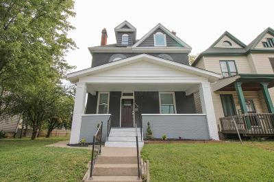 Columbus Single Family Home For Sale: 920 Oakwood Avenue