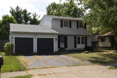 Powell Single Family Home For Sale: 8657 Ripton Drive