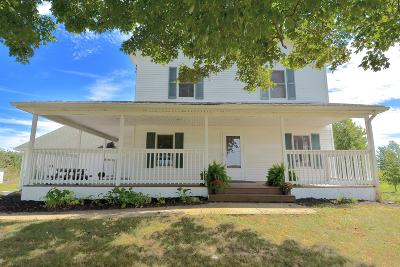Centerburg Single Family Home For Sale: 2616 Lytle Road