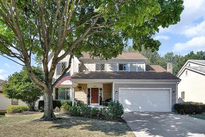 Columbus Single Family Home For Sale: 164 Brookhill Drive