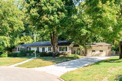 Columbus Single Family Home For Sale: 4759 Scenic Drive